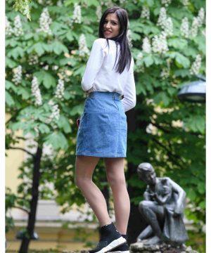 Denim Skirt 2