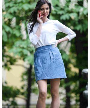 Denim Skirt 3
