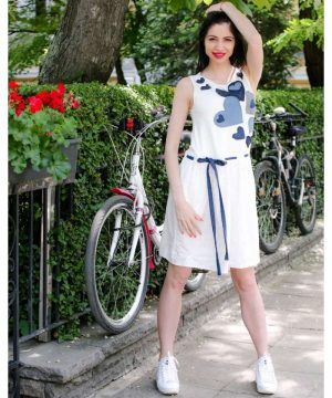 Linen Summer Dress 3