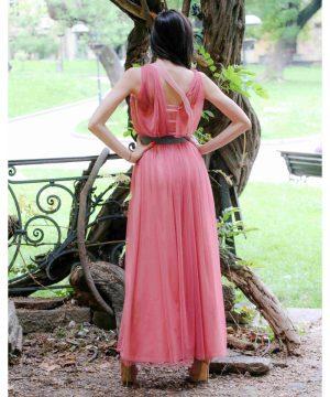 Long Pink Dress 2