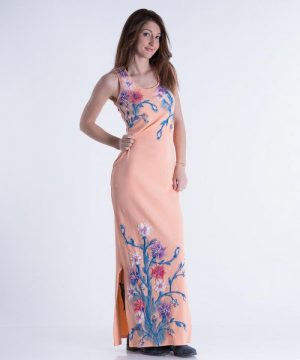 Painted Long Dress 1