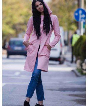 Pink hoodie 3