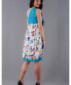 Summer Chiffon dress 2