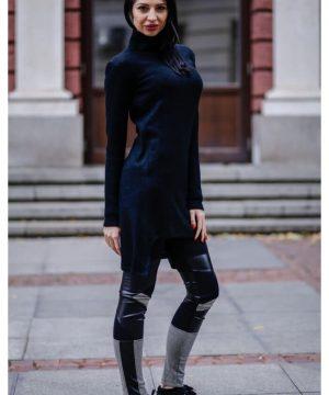 Winter tunic black 3