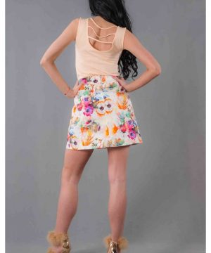 cotton skirt short 2