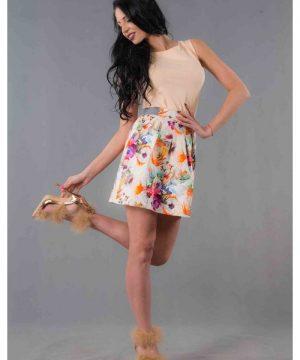 cotton skirt short 3