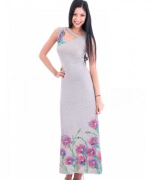 Gentle elegant long dress 1