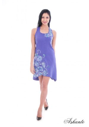 Hand Painted Summer Dress 1 3