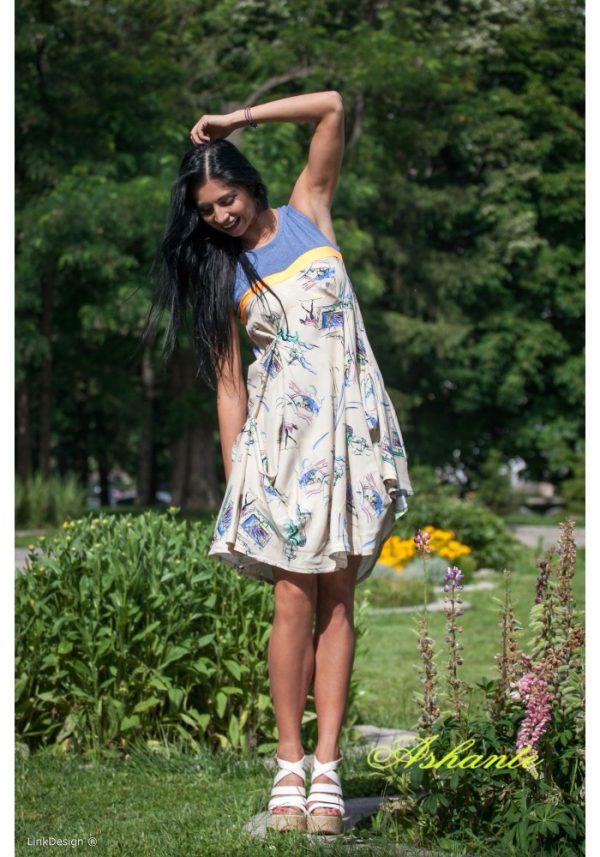 cotton summer dress 1