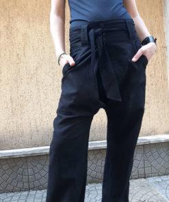 black-linen-dropcrotch