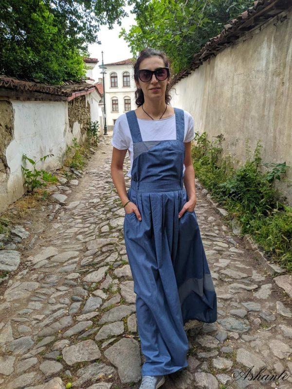Comfortable, summer dress (overalls)