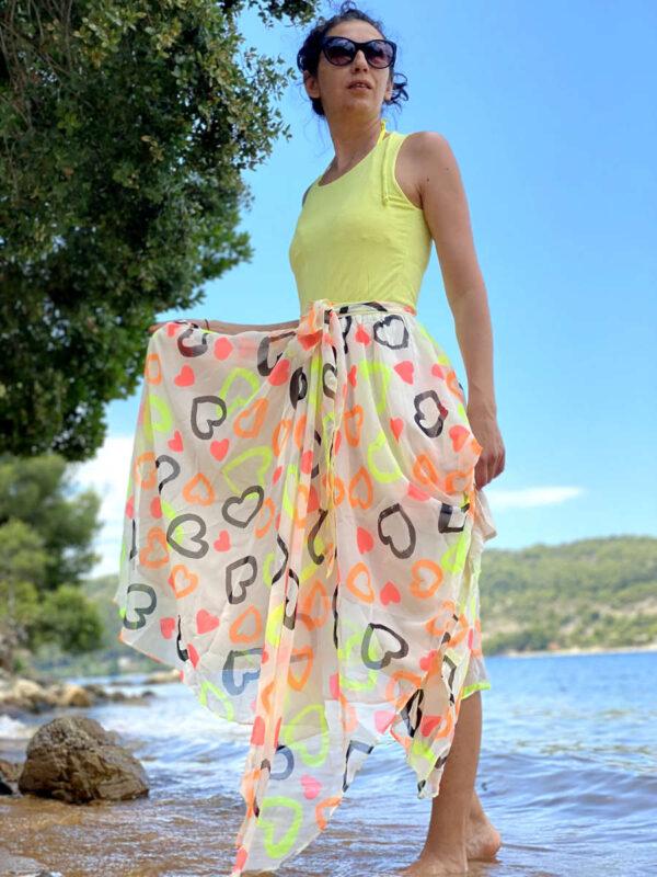 Лятна , ефирна рокля